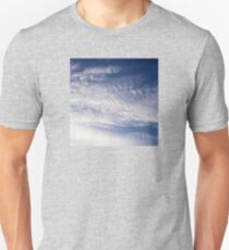 White and Blue Sky Unisex T-Shirt