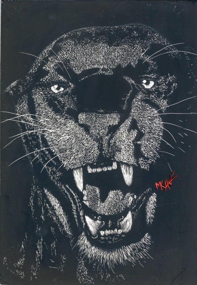 Panther Claybord (big) by akaikatsugan