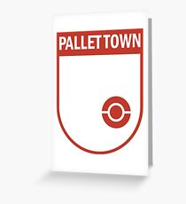 Pallet Town Soccer Club Greeting Card