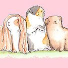 Three Little Guinea Pigs by Alittlebitiffy