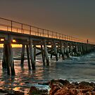 Pt Rickaby Jetty by Irene Scales