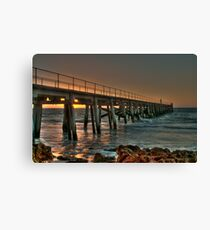 Pt Rickaby Jetty Canvas Print