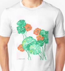 Nasturtiums Unisex T-Shirt