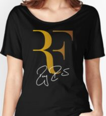 Camiseta ancha para mujer Roger Federer