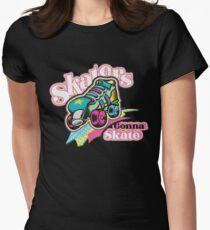 Skaters Gonna Skate Women's Fitted T-Shirt