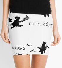happy cooking team · Tortillas deliciosas de los mejores cocineros Minifalda