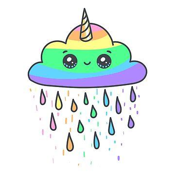 Regenboge Wolke von lucata