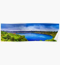 Mount Gambier - Blue Lake Poster