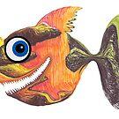 Deep Sea Smiling Fish  by Juhan Rodrik