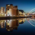 Reflections in the River Tyne by Great North Views