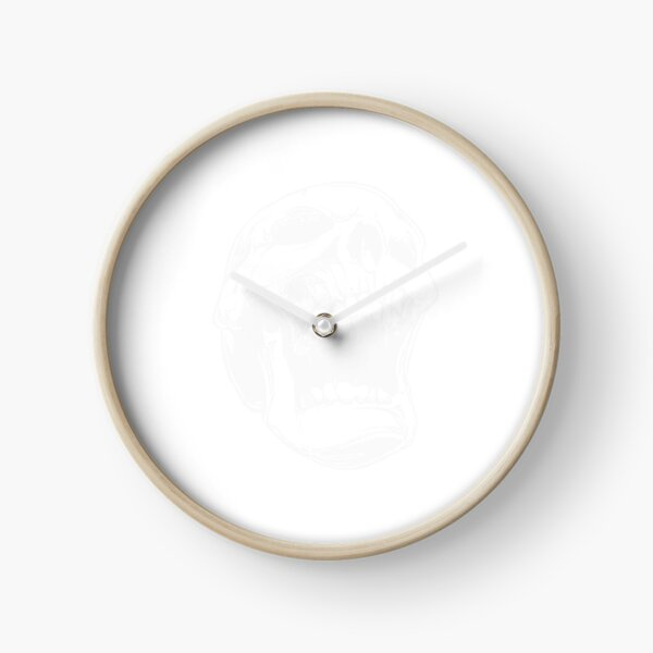 Screaming for help Clock