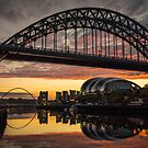 Sunrise Over the Tyne by Great North Views