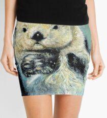 Sea otter painting Mini Skirt