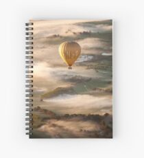 Sunrise over the Yarra Valley, Victoria, Australia. Spiral Notebook