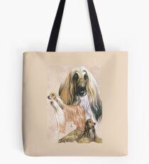 Afghan Hound Alteration Tote Bag