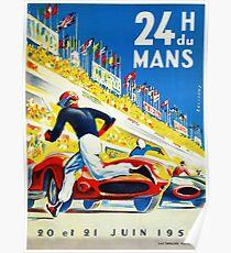 Jahrgang 1959 Le Mans Poster Poster