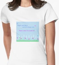 Sugar and Spice Women's Fitted T-Shirt