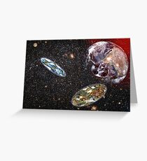 Escape From Earth Greeting Card