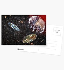 Escape From Earth Postcards