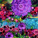 Blooms of summer's bliss 1 by lizzymasonart