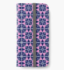Navy Glow Pattern  iPhone Wallet/Case/Skin
