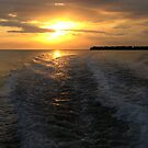 Florida Gulf Sunset by Pipewrench67