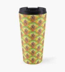Pure Pineapple Pattern Travel Mug