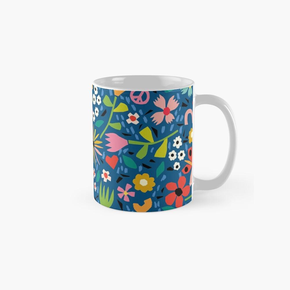 Peace And Love Classic Mug