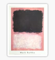 Mark Rothko Abstract Expressionist Sticker