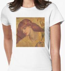 Dante Gabriel Rossetti Women's Fitted T-Shirt