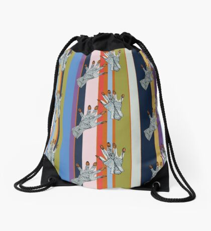 Hands On  Drawstring Bag