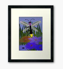 Dancing Firefly Framed Print
