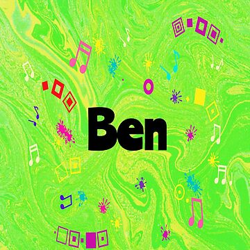 Ben - personalized gift in green by myfavourite8