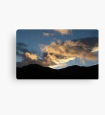 Icelandic Sunset Canvas Print