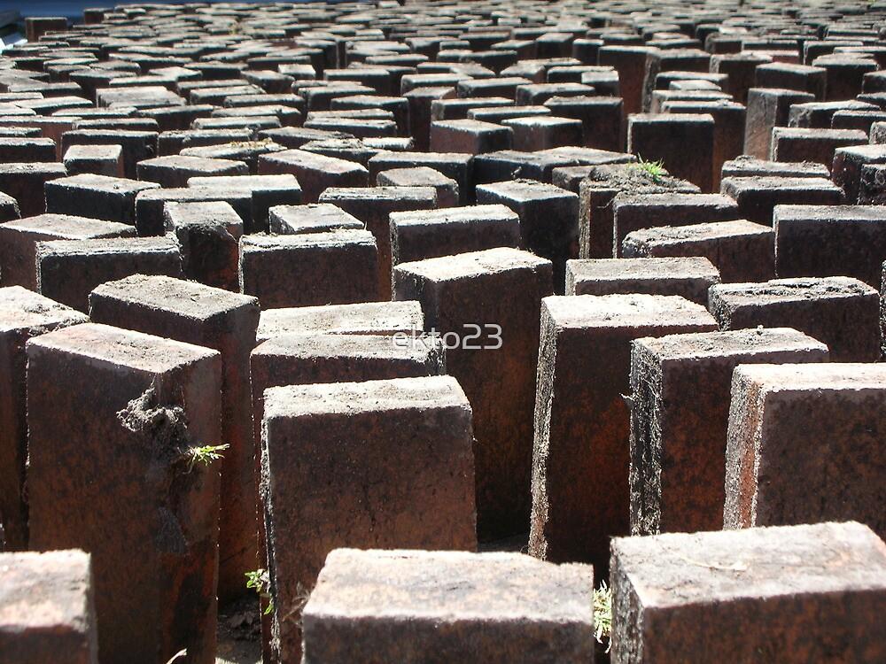 Abstract Blocks Geomentric by ekto23