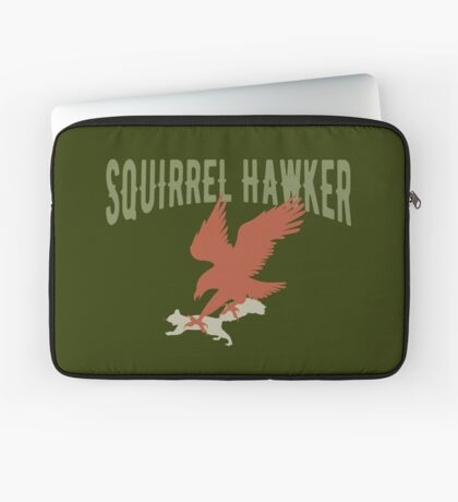 Falconer Squirrel Hawking T shirt, Falconers T-shirts Laptop Sleeve