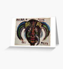 Papou Greeting Card
