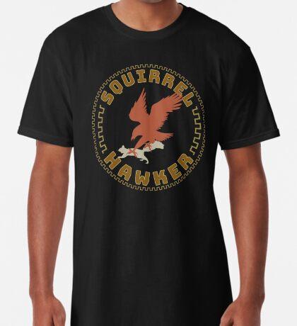 Falconer Squirrel Hawking T shirt, Falconers T-shirts and Gifts Long T-Shirt
