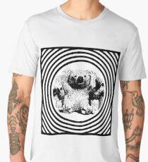 Cool koala retro style black white Men's Premium T-Shirt