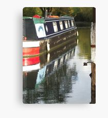 Barge Canvas Print