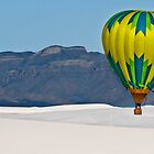Floating Over White Sands National Monument by Ray Chiarello