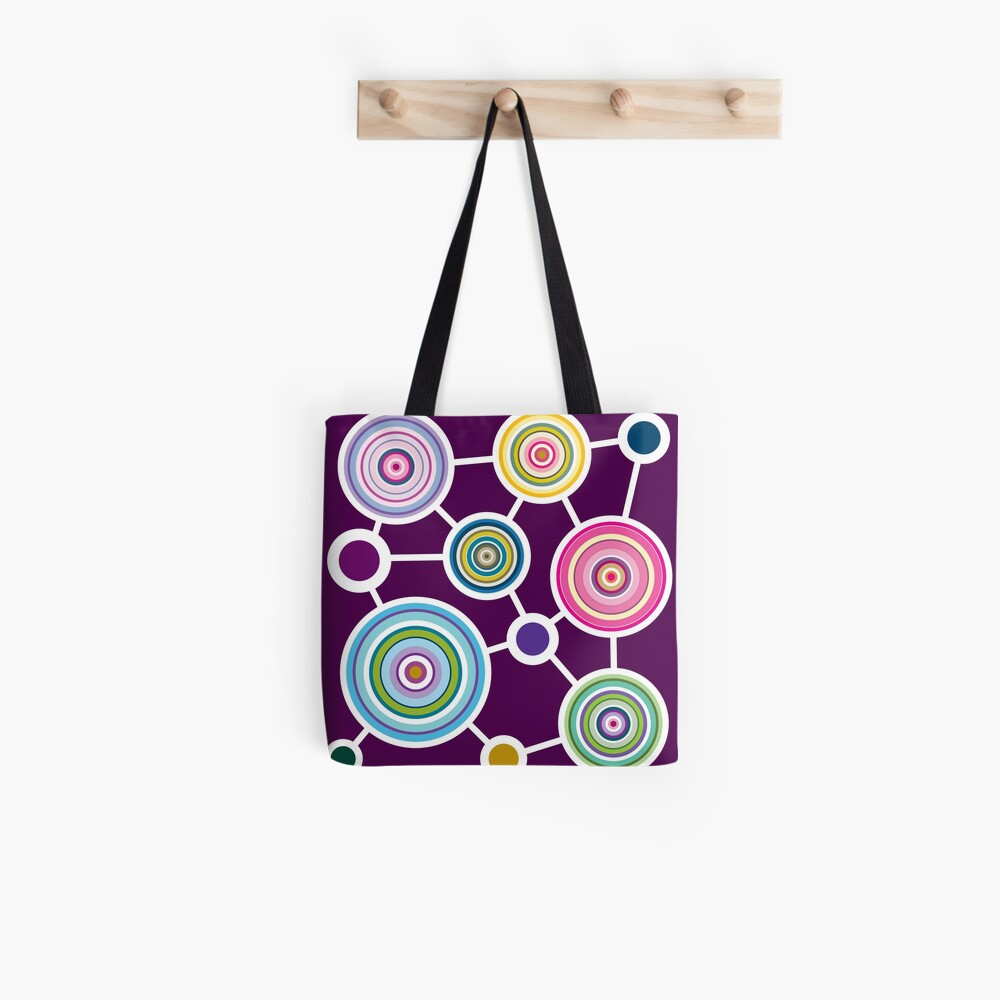 ROUND CONNECTION Tote Bag