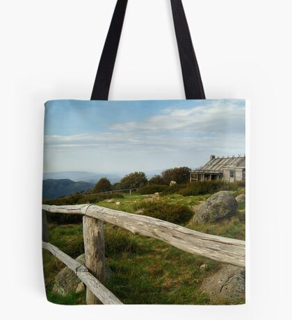 Craigs Hut, Victorian High Country Tote Bag