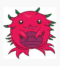 Dragon Fruit Dragon-Red Photographic Print
