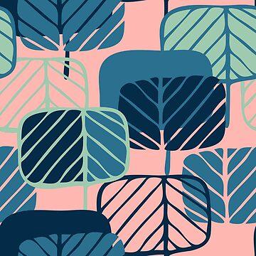 Beautiful and stylish stylized trees. by talanaart