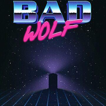 Bad Wolf by DavidHedgehog