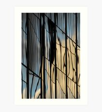 Sydney building reflection 10 Art Print