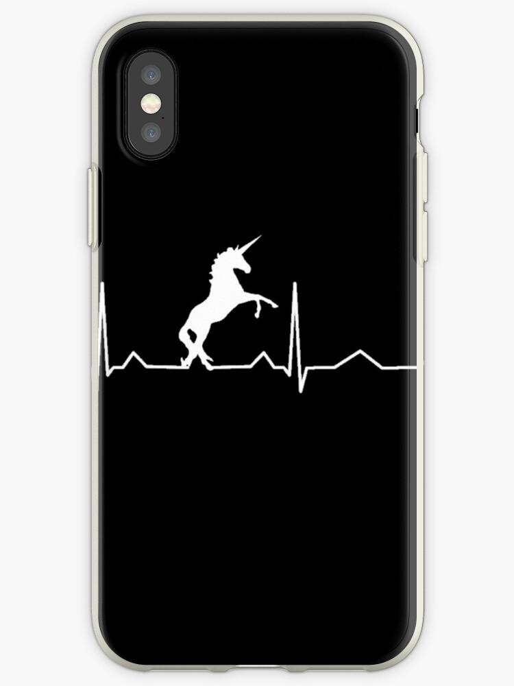 Einhorn-Herzschlag für Leute, die Einhörner lieben von JKWArtwork