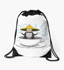 Storm in a teacup Drawstring Bag