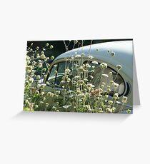 vw flowers Greeting Card